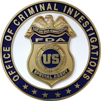 Food and Drug Administration - Office of Criminal Investigations